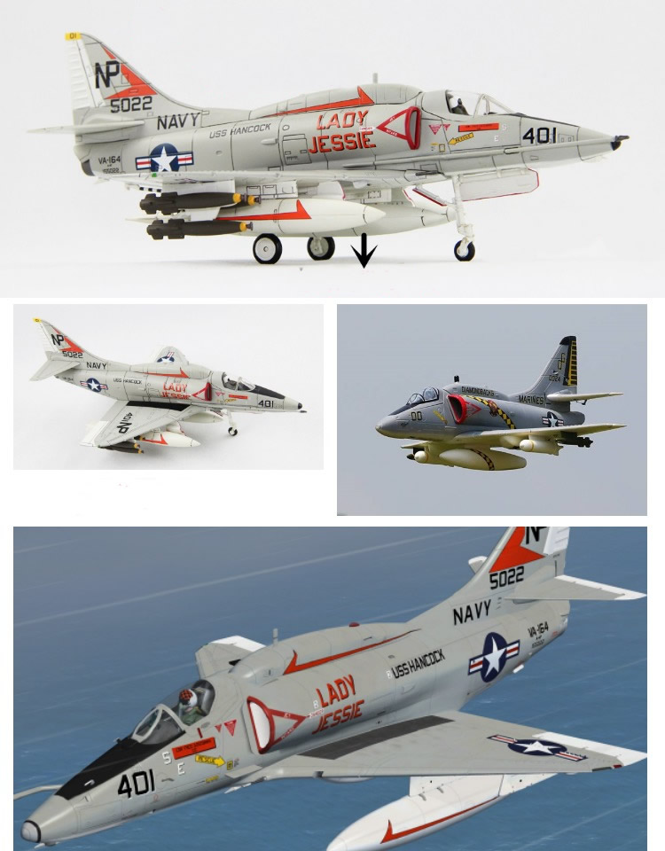 Sky Flight Hobby A-4 Skyhawk 70mm Jet PNP plane